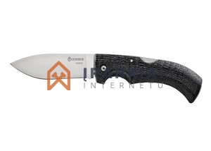 Lenktinis peilis Gerber Gator 154CM Drop Point, Fine Edge