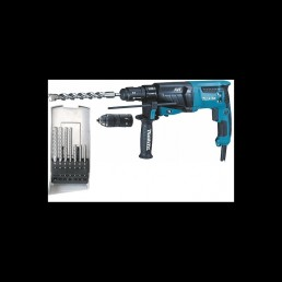 Makita Perforatorius MAKITA HR2631FTJ su priedu