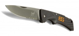 Peilis Gerber Bear Grylls Compact Scout, Drop Point, Serrated