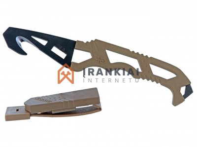 Peilis Gerber Crisis Hook Knife TAN499