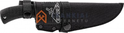 Peilis Gerber Gator Fixed - Gut Hook, Fine Edge
